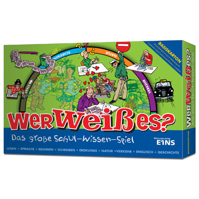 "Knowledge play-set ""Wer weiß es?"""