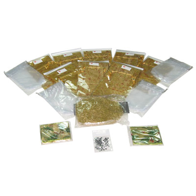 Organza bag and tape set - 31-part