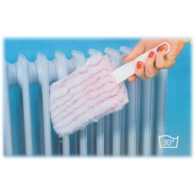 heater cleaner - With microfibre cover