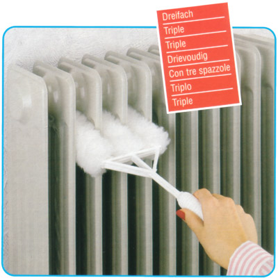 heater cleaner - 3-fold