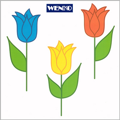 tile dekore - with tulip motive