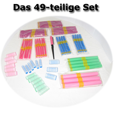 GOSPA Curler set - Famously from the tele-shopping-TV - 59-pcs.