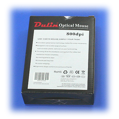Dulin Optical Mouse 800dpi PS/2